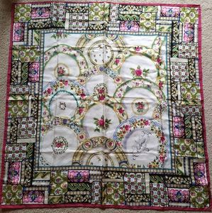 Express silk scarf